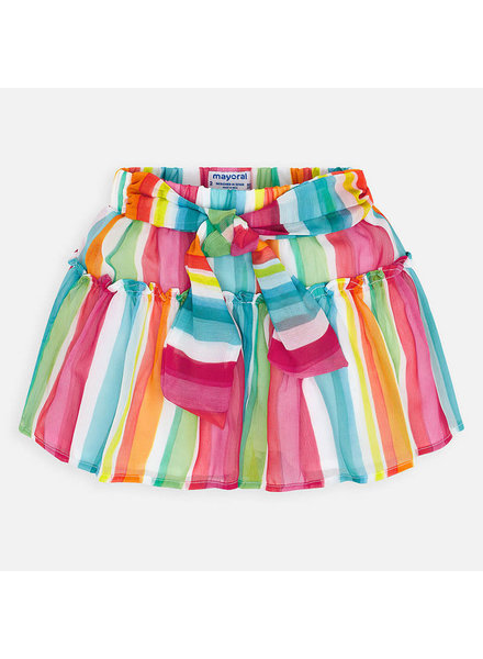 Mayoral Muti-Color Striped Shorts