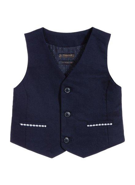 Mayoral Dressy Linen Vest