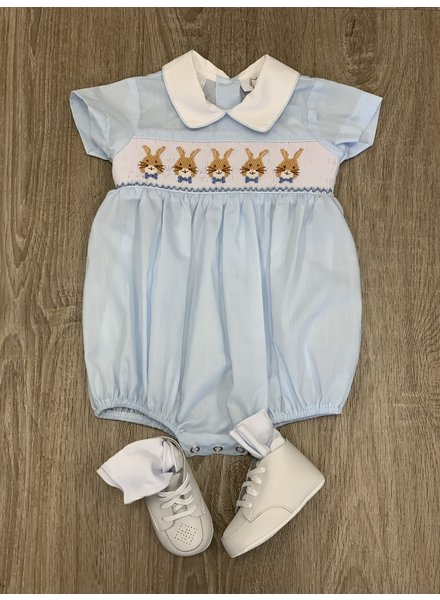 Bunny Smock Bubble Light Blue