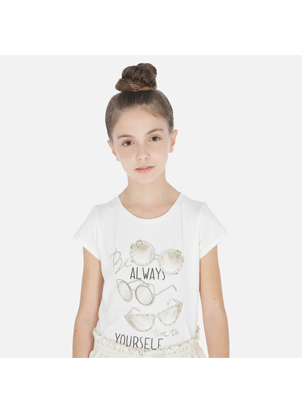 """Mayoral """"Be Always True To Yourself"""" S/S Shirt"""