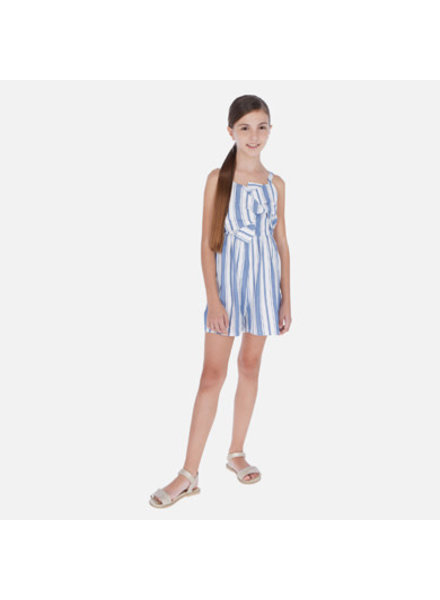 Mayoral Stripe Romper