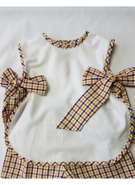 Laly LSU Bib Top w/ Short Set