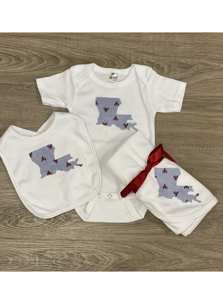 Louisiana Crawfish Onesie