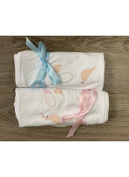 Pelican Linen Blanket
