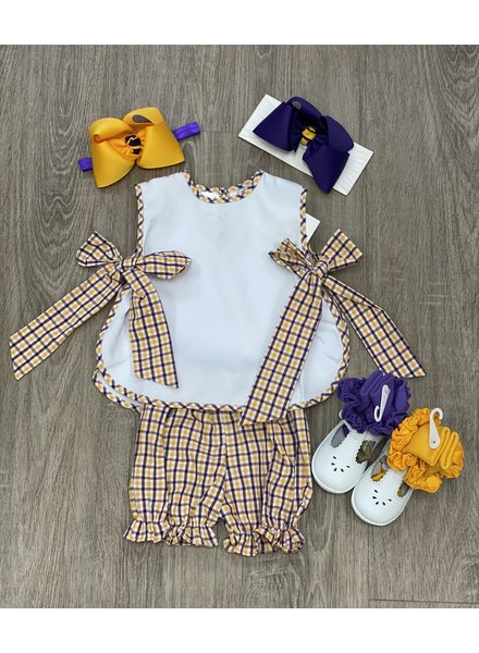 Laly LSU Bib Top w/ Bloomer