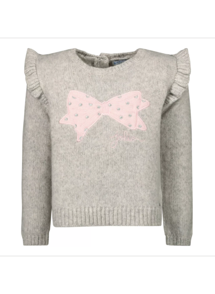 "Mayoral Ruffle ""Bow"" Sweater"