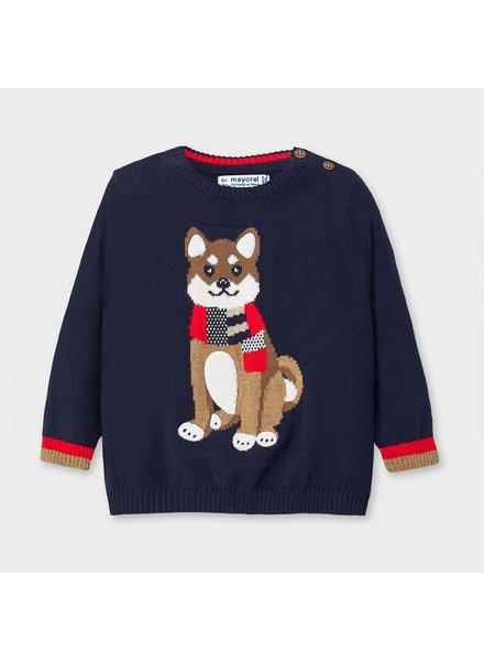 Mayoral Fox Sweater~ Navy