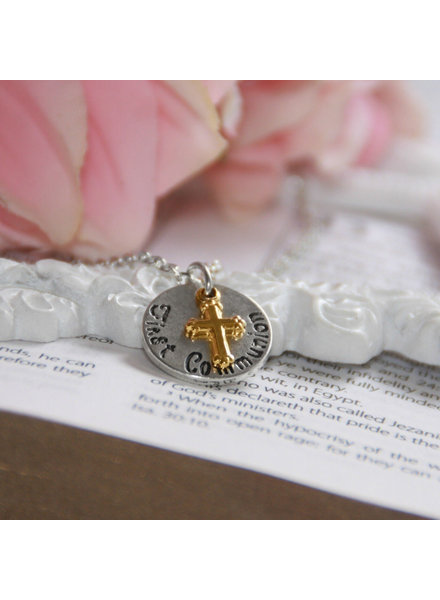 Collectables America First Communion w/ Cross Necklace