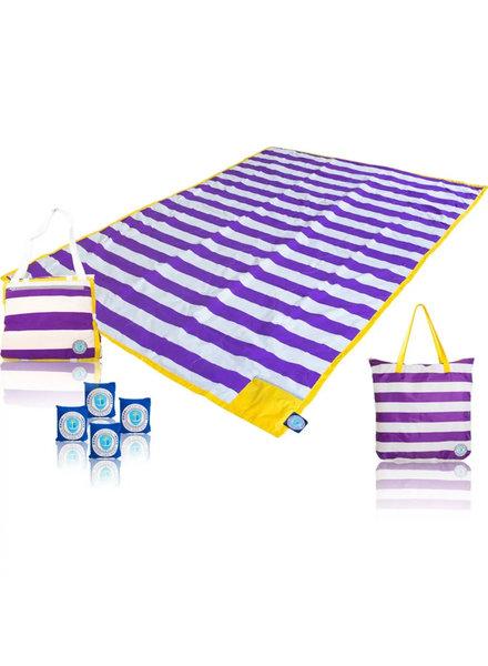 Award Winning Oversized Blanket ~ Purple/Gold