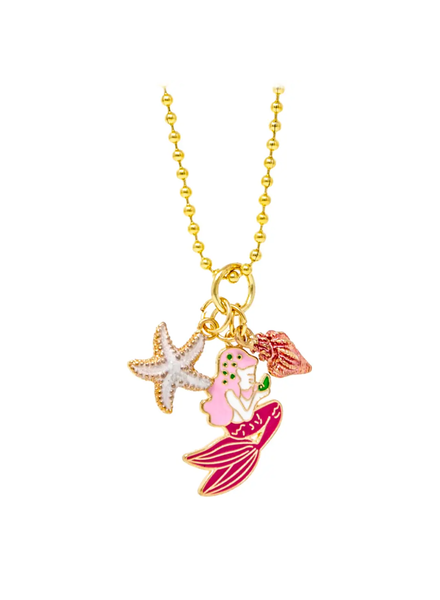 Mermaid, Star & Shell Necklace