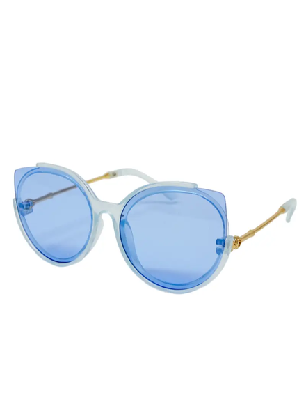 Cat Eyes Sunglasses Blue