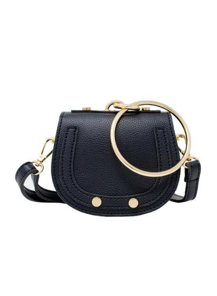 Tiny Bracelet Bag {Black}