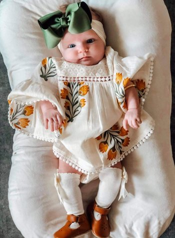 Yo Baby Floral Dress w/ Bloomer