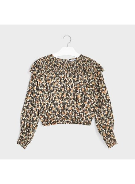 Mayoral Lurex Shirt ~ Camoflague