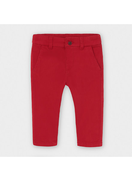 Mayoral Basic Trousers ~ Red