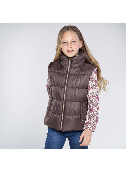 Mayoral 7337 Padded Puffer Vest ~ Mole F20