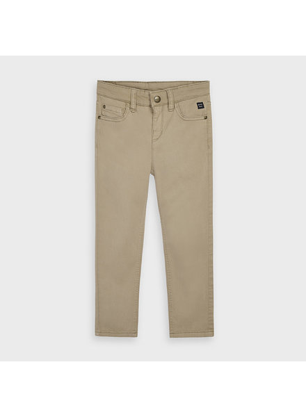 Mayoral 5 Pocket Regular Fit Pants ~ Khaki