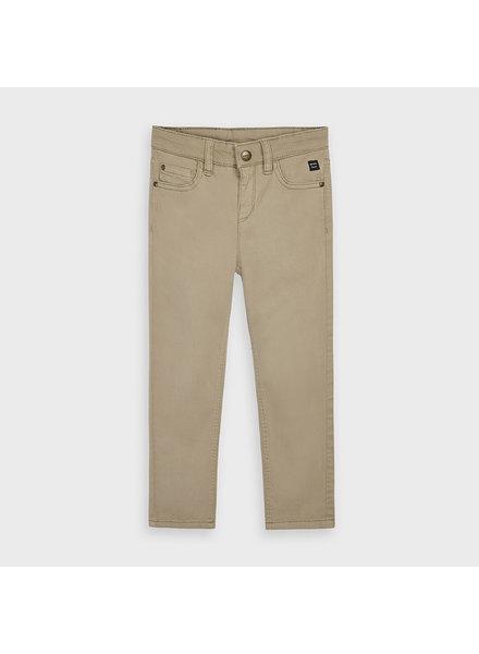 Mayoral 5 Pocket Regular Fit Pants {Khaki}