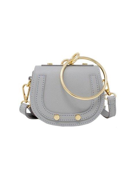 Tiny Bracelet Bag Gray