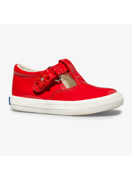 Keds Daphne T Strap {Red Patent}