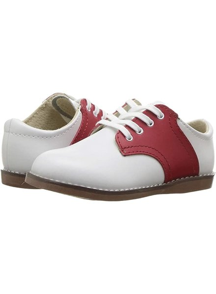FootMates 8412 Cheer {White/Red}