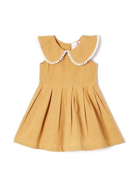 Yo Baby Sleeveless Dress Camel