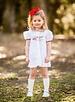 Heaux Heaux Heaux Dress {White/Christmas Plaid} F20