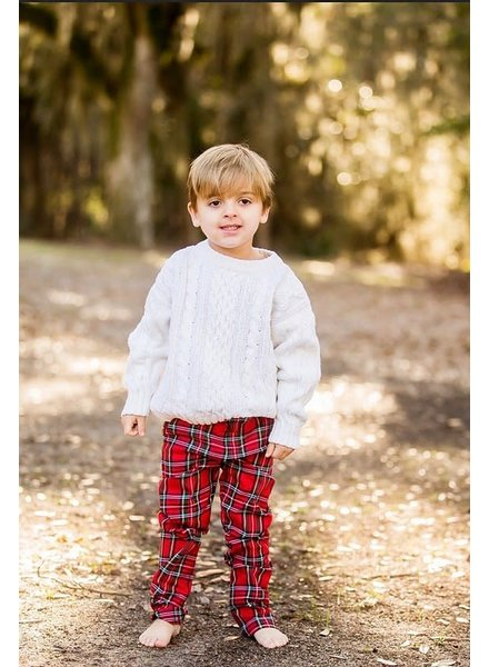 Prim & Proper Boys Plaid Pants