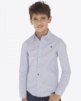 Mayoral Jacquard Shirt {Light Blue}