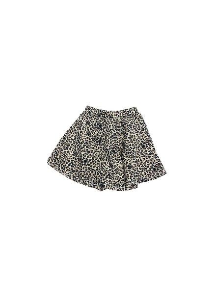 M.L. Kids Leopard High Waist Shorts