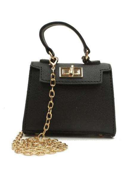 Popatu Black Mini Bag