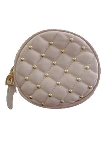 Popatu Quilted Round Crossbody Bag {2 Color Options}