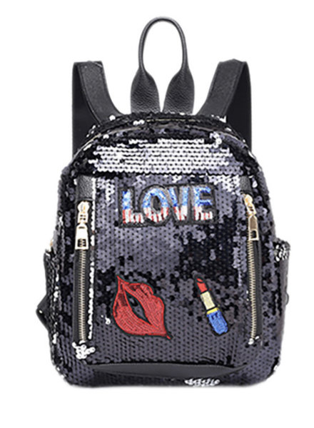 Popatu Sequin Backpack {2 Color Options}