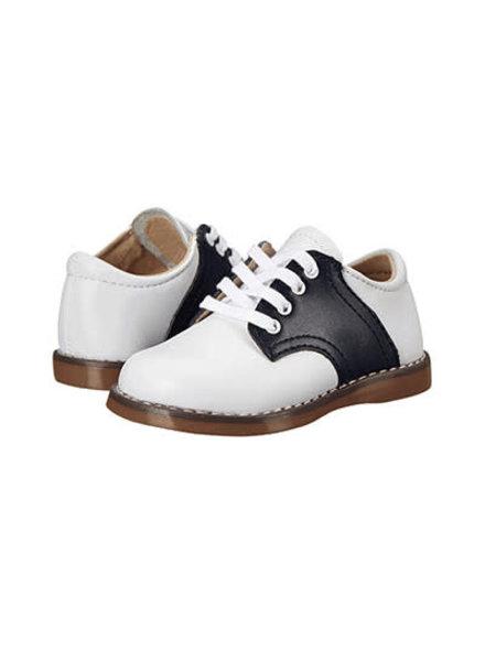 FootMates Cheer {White/Navy}