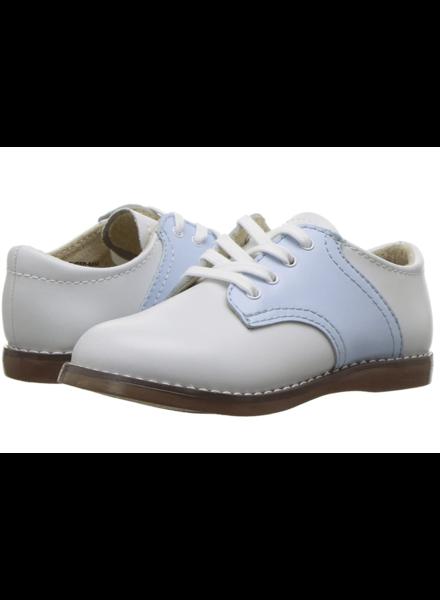 FootMates Cheer {White/Lt. Blue}