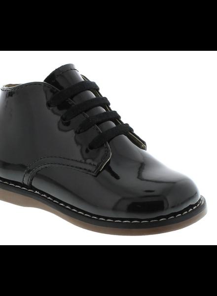 FootMates Todd {Black Patent}