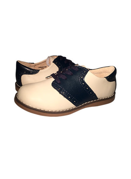 FootMates Connor {Ecru/Royal}