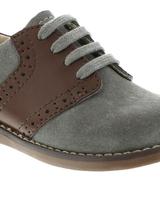 FootMates Connor {Steel/ Cognac}