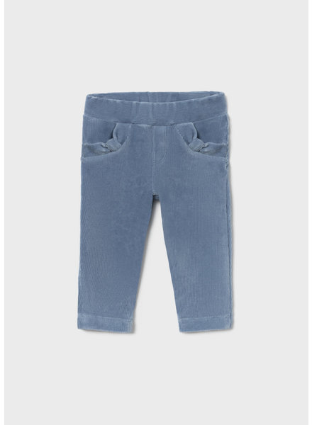Mayoral 514 Corduroy Knit Trousers {Light Blue} F21
