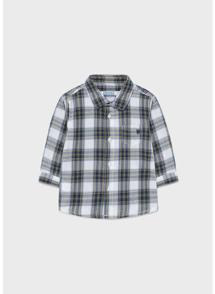 Mayoral Plaid T-Shirt {Hunter Green}