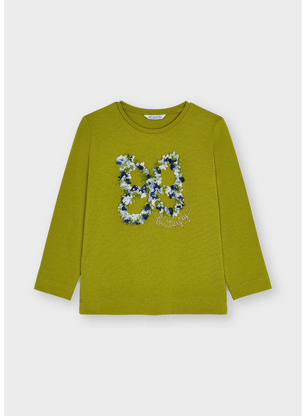 Mayoral Butterfly T-Shirt {Olive }