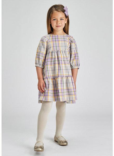 Mayoral Plaid Dress {Lilac}