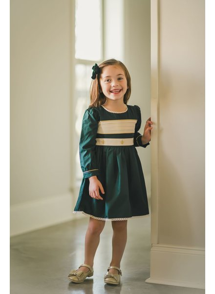 Evie's Closet Belted Holiday Dress