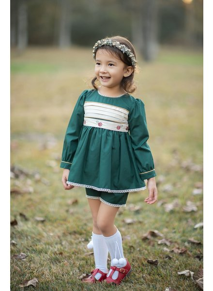 Evie's Closet Belted Holiday Tunic Set