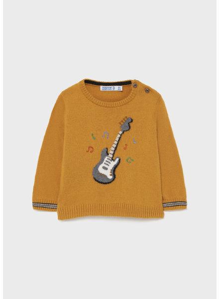 Mayoral Guitar Sweater {Mustard}