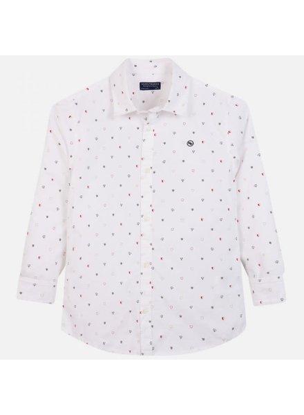 Mayoral L/S Shirt {White}
