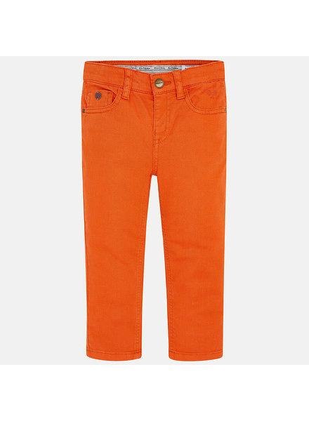 Mayoral Twill Pants {Orange}