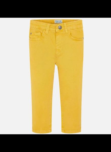 Mayoral 5 Pocket Regular Fit Pants {Butter}