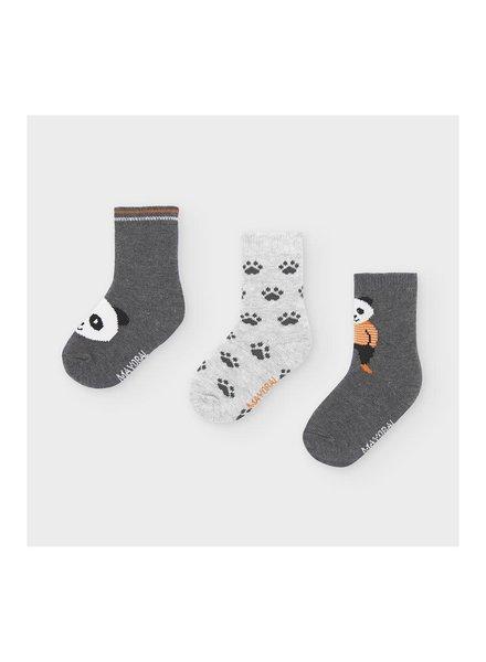 Mayoral Panda Socks {Gray}