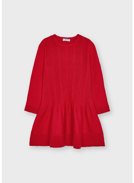Mayoral Sweater Dress {Red}